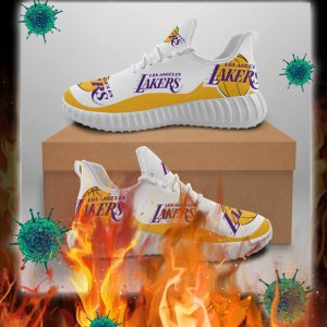 Los Angeles Lakers Sneakers - pic 1