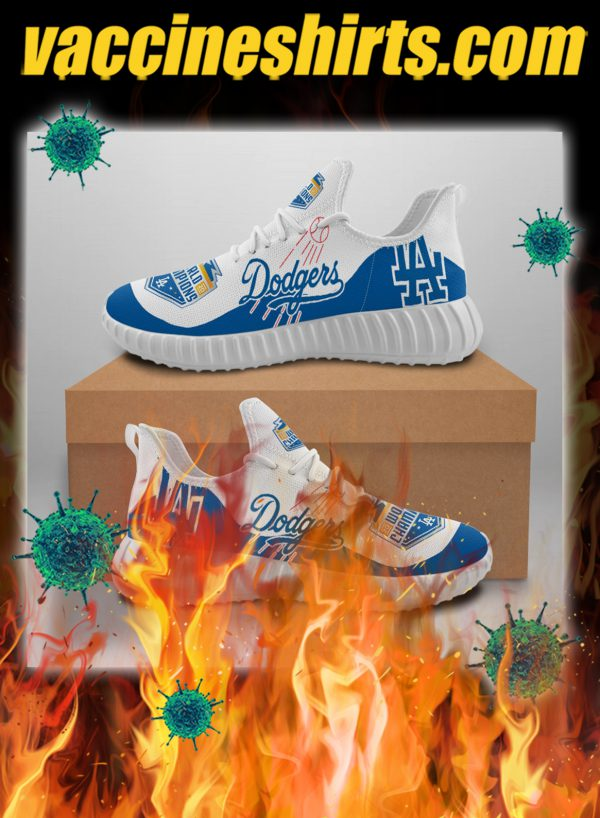 Los angeles dodgers 2020 world series champions sneaker