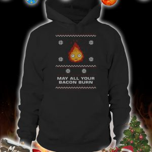 May all your bacon burn christmas sweater 1