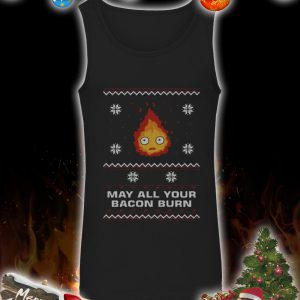 May all your bacon burn christmas sweater 3