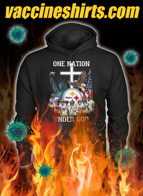 Pittsburgh steelers one nation under god hoodie