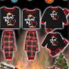 What the Elf Plaid Christmas Family Matching Pajamas Sets