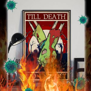 Zoombie till death do us part poster- A3