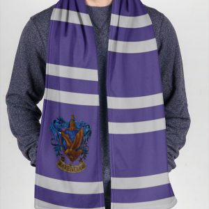 Harry Potter Ravenclaw Fleece Scarf 2