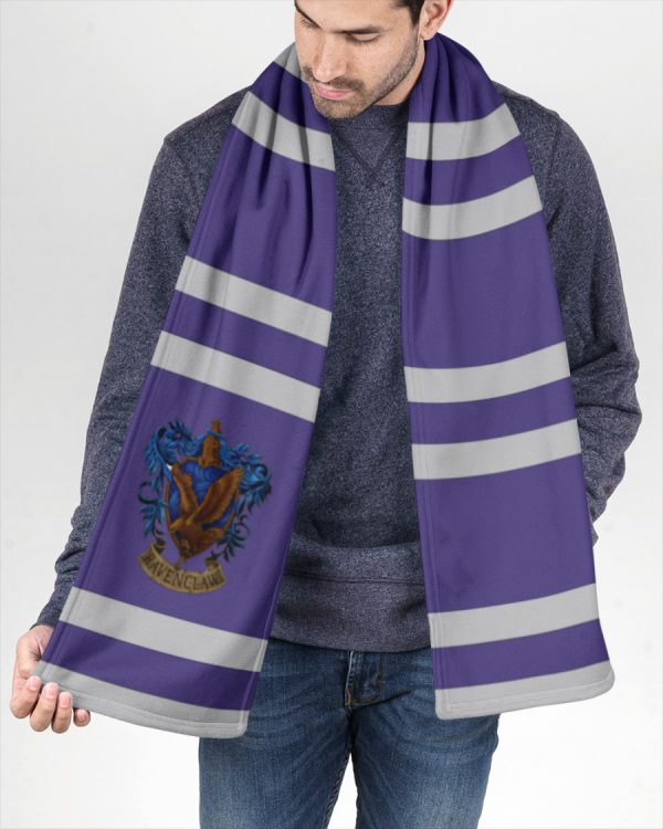 Harry Potter Ravenclaw Fleece Scarf 3