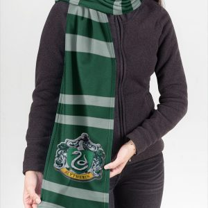 Harry Potter Slytherin Fleece Scarf 3