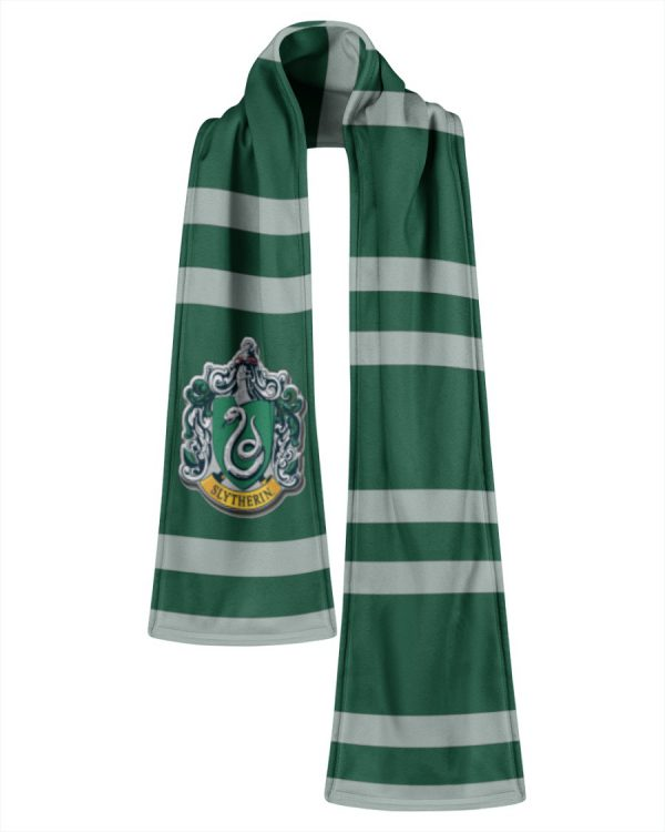 Harry Potter Slytherin Fleece Scarf