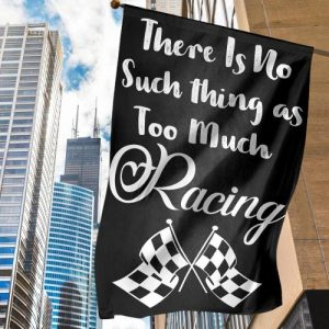 There's no such thing as too much racing flag