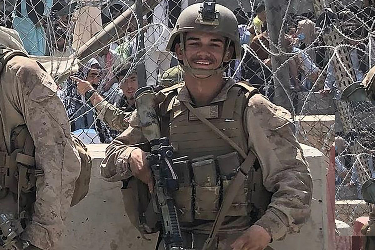 Kareem Nikoui would often visit home on the weekends with 10 or 15 of his marine buddies.