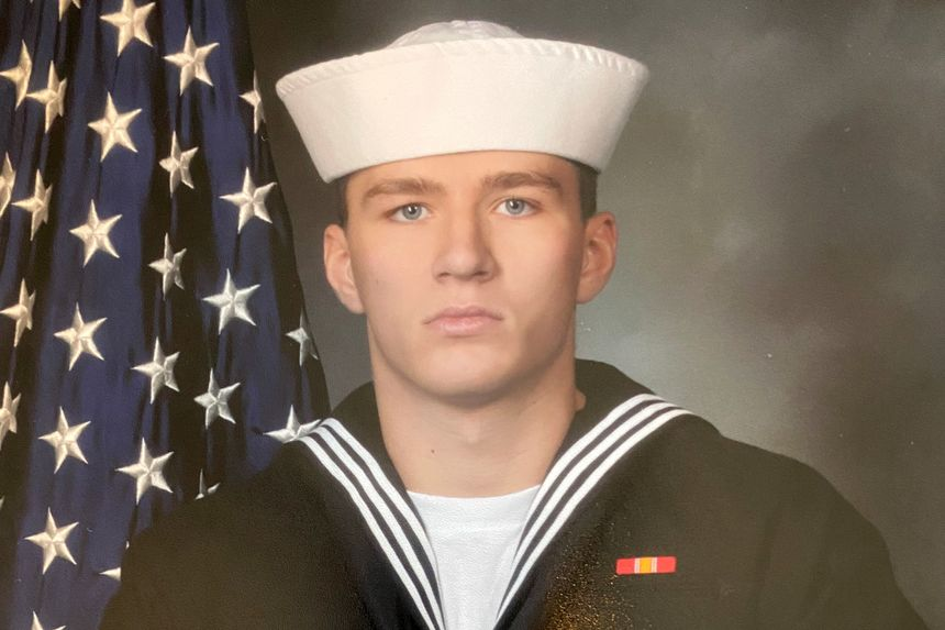 Maxton Soviak, a Navy corpsman shown in a photo provided by his family, was one of 13 U.S. service members killed in Thursda