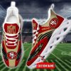 NFL San Francisco 49ers Personalized Max Soul Shoes