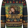 LOTR One Does Not Simply Walking Into Mordor Ugly Christmas Sweatshirt