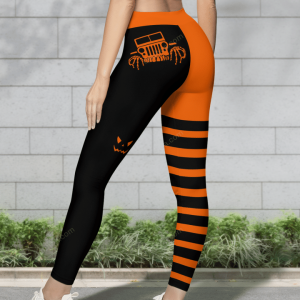 HALLOWEEN LEGGING WITH FUNNY JEEP LOGO -1