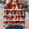 Cavalier King Charles Spaniel Snow Christmas 3D Ugly Sweater