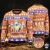Brahman Cattle Lovers Halloween Gift Moo I Mean Boo All Over Print Ugly Sweater