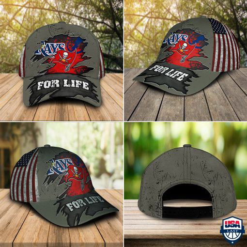 Tampa Bay Rays With Tampa Bay Lightning And Tampa Bay Buccaneers Sports For Life Cap & Hat