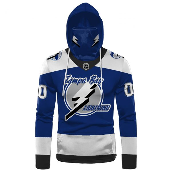 NHL Tampa Bay Lightning Personalized 3D Hoodie Mask