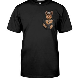 Yorkshire Terrier In Pocket Classic T-Shirt